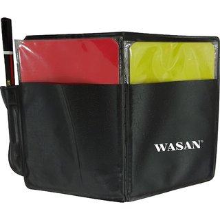 Wasan Football Referee Card Red Yellow (Set of 2)
