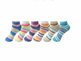 BEAUTIFUL WINTER CARE  Women's Low Cut Ankle Socks, Pack of 6 (Multicolour)  Be the first to review this item