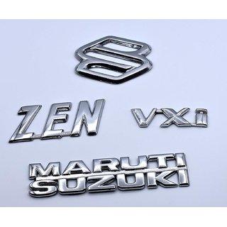 customize Zen VXI Maruti Suzuki Emblem Kit