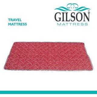 Gilson Tour 1 Inch Foam Mattres (72x36x1)- Maroon