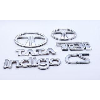 Customize Indigo CS TATA Emblem