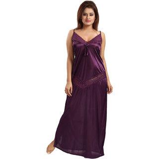 Be You Violet Lace Women Night Dress / Nighty