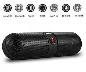 Deals e Unique Wireless Bluetooth Speaker Premium Sound HD Audio For all Device (Multi-Color)