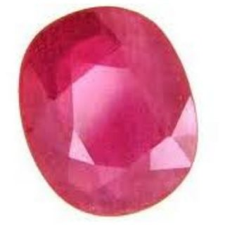 Ruby / Manik Lab Certified Natural Gemstone 7.50 Ratti Ruby (Manik)