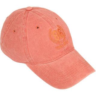 6%off DRUNKEN Mens Washed Cotton Baseball Cap Rust Freesize ee52637ba577