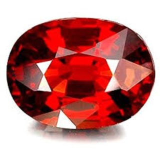 Hessonite Garnet (gomed) Certified Gemstone 7.25 ratti Natural