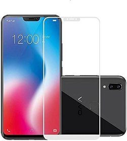 5D Tempered Glass for Vivo V9(White)