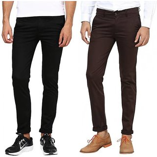 Red Code Slim Fit Trouser (Chinos) For Men