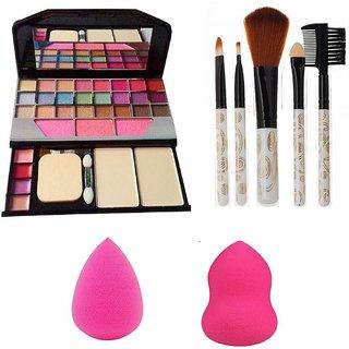 buy tya 6155 makeup kit  5 pcs makeup brush  2 pc