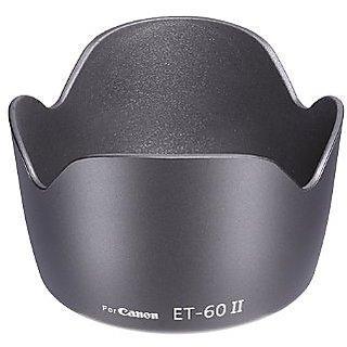 Camera Flower Lens Hood for Canon Eos Camera Lens Et 60 Replacment 18-55Mm 55-250Mm