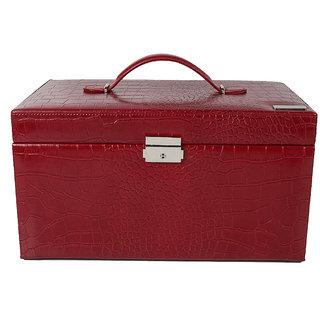 Kasketiva Scarlet 2 travel kit jewellery case