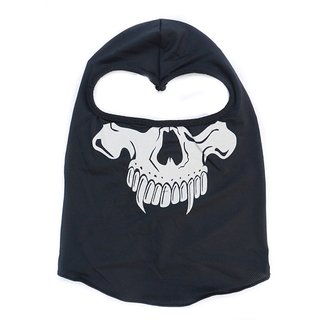 Spidy Moto Motorcycle Black Balaclava Headgear Full Face Mask For Biker