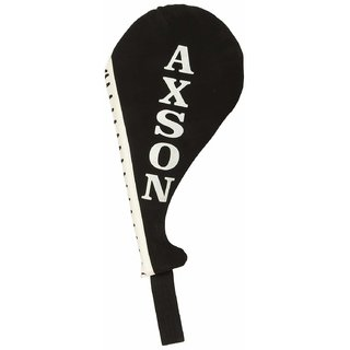 Axson Unisex Foam Boxing Fan Pad Double White Black