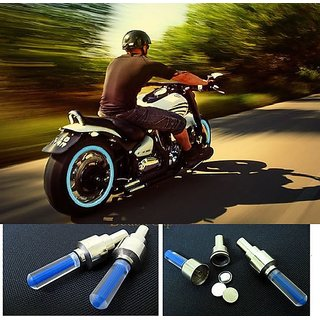 Flashing Wheel Lights (For Cars Bikes)-Blue
