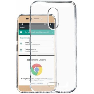 wholesale dealer 00b50 141f0 Transparent Soft Back Cover For Micromax Canvas Selfie 2 Q4311