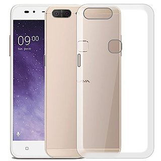huge selection of 9aaad d775b Transparent Soft Back Cover For Lava Z90