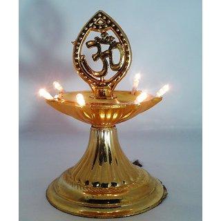 VRCT Electric Diya (Gold) 7 bulb