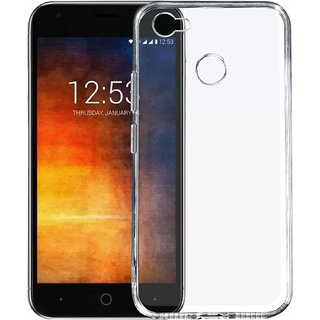 new product e1ced 3983e Transparent Soft Back Cover For Smartron t.Phone P