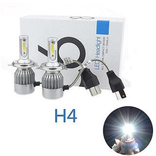 C6 H-4 LED Headlight 36W/3800LM Conversion Kit Car High/Low Beam Bulb Driving Lamp 6000K of (2 Pcs) FOR HONDA MOBILIO