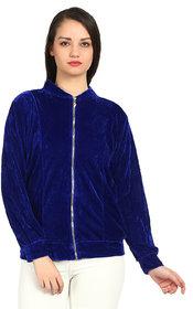 Raabta Royal Blue Velvet Jacket