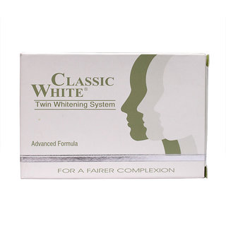 Classic White Twin Skin Whitening Soap (85g)