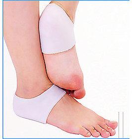 Silicone gel Heel socks moisturizing for cracked foot skin protector 40gms1 pair
