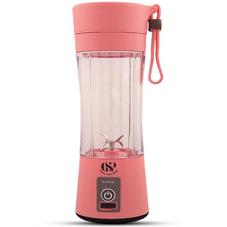 GSP Rechargeable Portable Juice Cup, Machine Mini Juicer,USB Mixer Perfect Mixer For Personal Use(380ml)