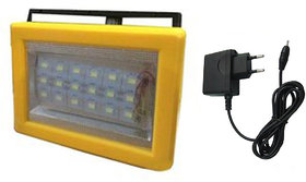 X-EON Model 786 LED Rechargeable Emergency Light 18 SMD with Handle long lasting with Charger - Model 786 - Yellow