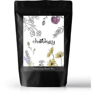 Chaiology Darjeeling Black Tea 500g 250 Cups  100 Natural First Flush Loose Leaf Tea Unflavoured