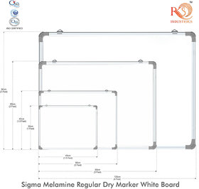 White Maker Board for writing dry erase board