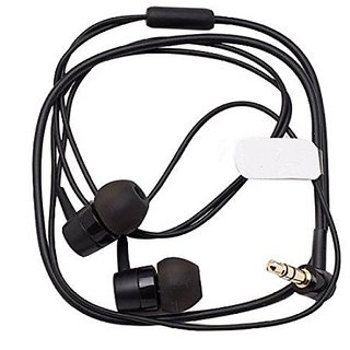 4918d930116 New 3.5mm MH755 Earphone for Sony SBH20 SBH50 SBH52 Bluetooth (Short Cable  Without Mic) - Black Colour
