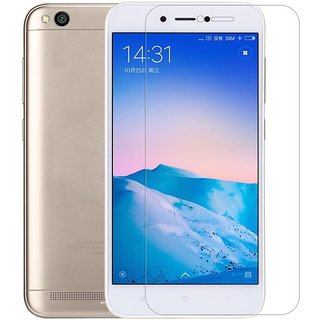 Redmi 5A tempered glass screen protector 2.5D (PACK OF 2 GLASS)