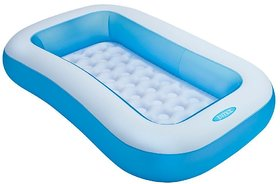 ASSURED INTEX INFLATABLE BABY POOL 5FT SWIMMING POOL FO