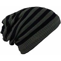 Mens womens Solid Woolen Slouchy Winter Beanie Cap