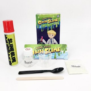 6th Dimensions SLIME LAB  Make Your Own Slime  Do it yourself Smile  Multi-color Putty Toy