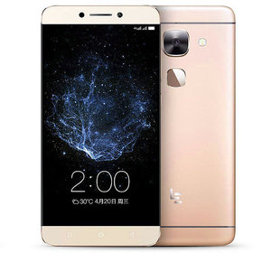 Letv X620 4G VoLTE Smartphone with 5.5 Display and Fingerprint Sensor and 4GB RAM, 32GB ROM mobile in Gold Colour
