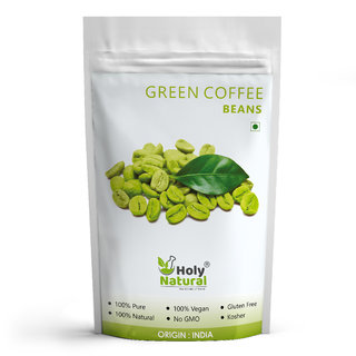 Green Coffee Beans - 200 GM by Holy Natural