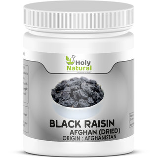 Dried Black Afghan Raisins - 200 GM