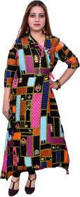 Famous multicolored cotton kurti for women