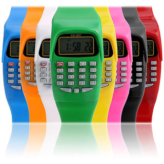 Calculator watch for Kids (Colour May Vary )
