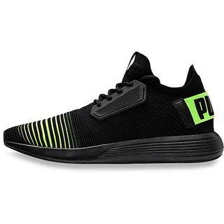 Puma Mens Black Uprise Color Shift Sneakers