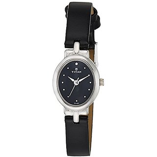 Titan Karishma Revive Analog Black Dial Womens Watch-2594SL01