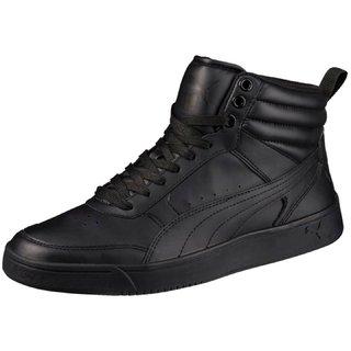 Puma Mens Black Puma Rebound Street v2 Sneakers