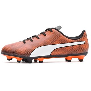 Puma Womens Orange Rapido FG Football Shoes