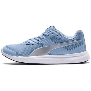 Puma Womens Sky Blue Escaper Mesh Running Shoes