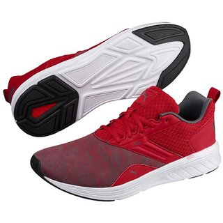 Puma Womens Red NRGY Comet Running Shoes