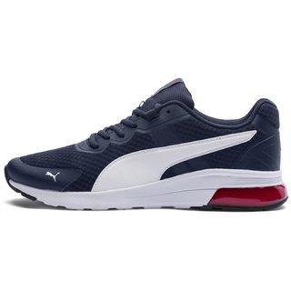 Puma Mens Grey Electron Running Shoes