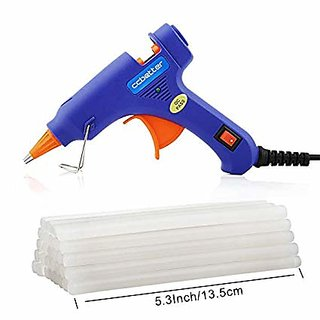 Hot Melt Glue Gun 40 Watt 5 Glue Sticks Free