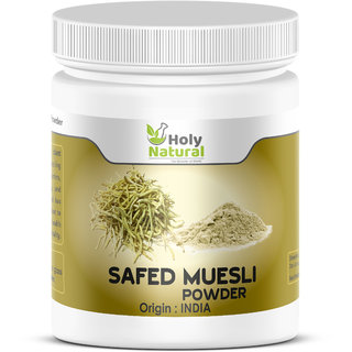 Safed Muesli Powder - 100 GM by Holy Natural