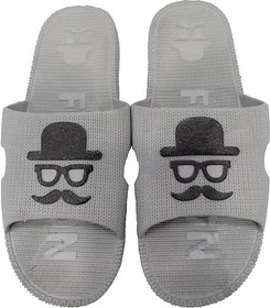 Ziplite Men's slippers  flip flop ( Grey )